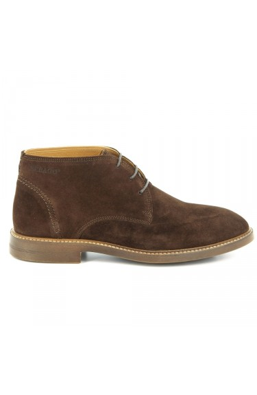 Bryant Chukka Dark Brown Suede