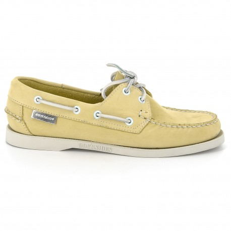 Docksides Yellow Nubuck