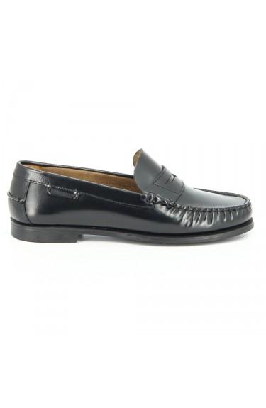 Plaza  Black Leather