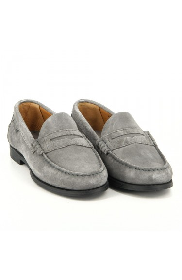 Plaza Grey Suede