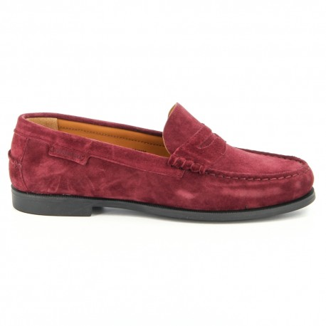 Plaza Berry Suede