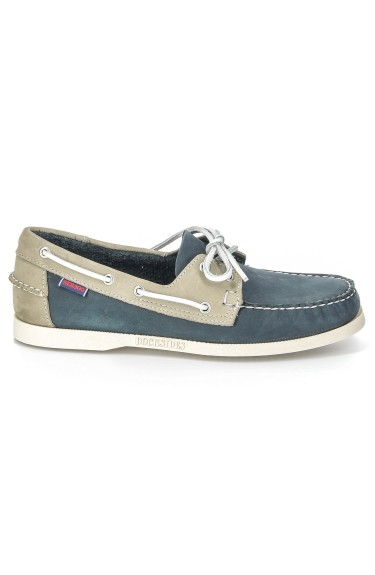 Docksides  Blue/Grey Nubuck