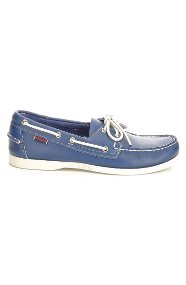 Docksides  Royal Blue Leather