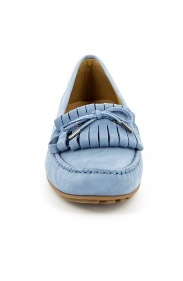 Harper Kiltie Tie LT Blue Nubuck