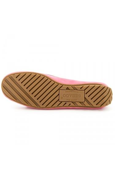 Harper Kiltie Tie LT Pink Nubuck