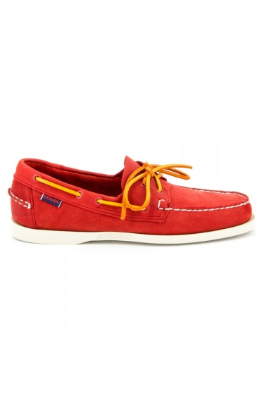 Docksides Red Nubuck