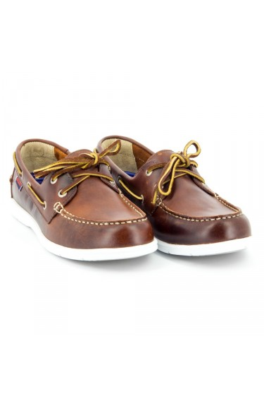Litesides Two Eye Brown Oiled Waxy Leather