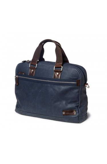 CANVAS MESSAENGER BAG NAVY