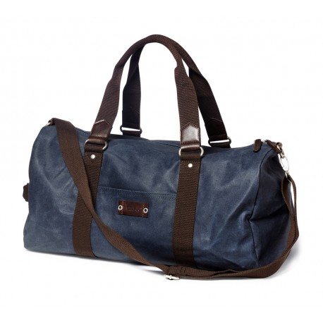 CANVAS ROLL BAG NAVY