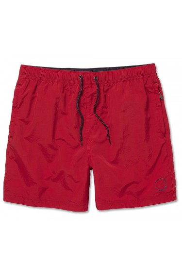 WALDO PACKABLE SWIMM SHORT RED