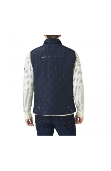 Ledge Quilted Gilet Navy