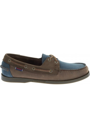 Docksides  Taupe/Brown/Blue