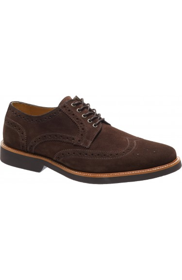TARRACO  DARK BROWN SUEDE