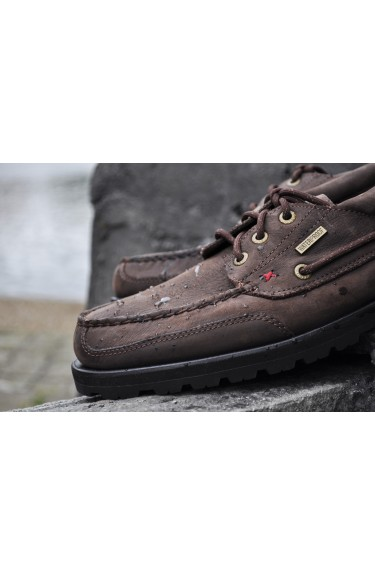 VERSHIRE THREE EYE WP DK BROWN LEATHER
