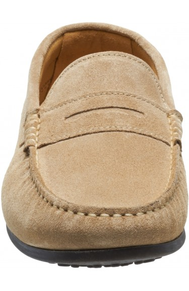 Trenton II penny Taupe Suede