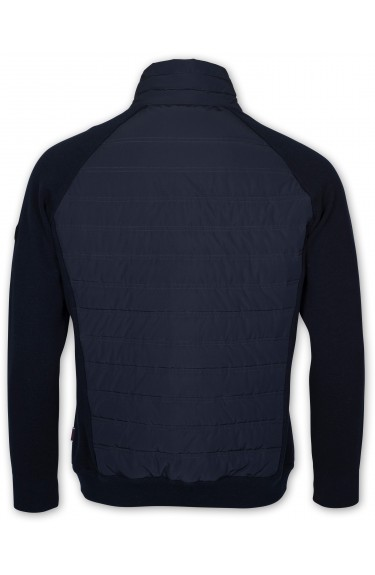 PAD KNIT JACKET NAVY