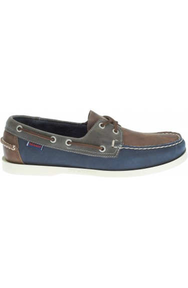 Docksides Portland Spinnaker  Brown/Navy
