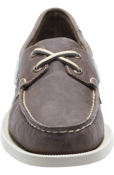 Docksides Dark Taupe Leather