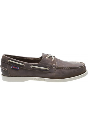 Docksides Portland Leather  Dark Taupe