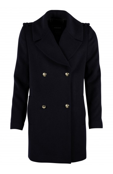 PEA W COAT NAVY