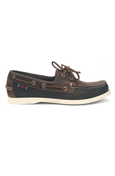 Docksides Portland Spinnaker Waxed  Brown/Navy/Grey