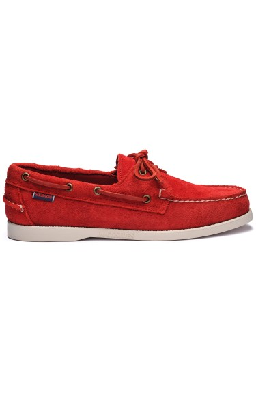 Docksides Portland Suede Men Red