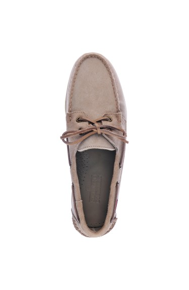 Docksides Portland Suede Brown Taupe