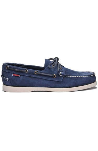 Docksides Portland Suede Women Blue/Navy