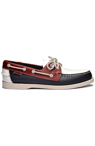 Docksides Portland Spinnaker Men  Navy/Red/White