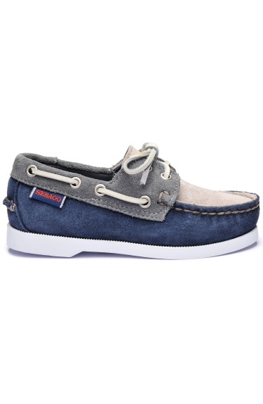 Docksides Portland Jib Kids Navy/Dark Grey/Mid Grey