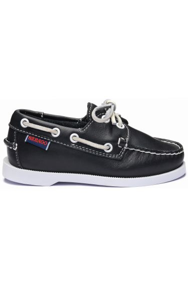 Docksides Portland Kids  Black