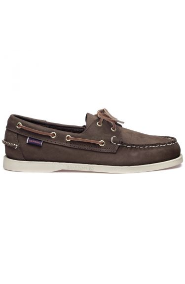 Docksides Portland Nubuck  Dark Brown
