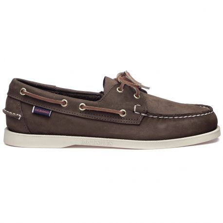 Docksides Portland Nubuck Men  Dark Brown