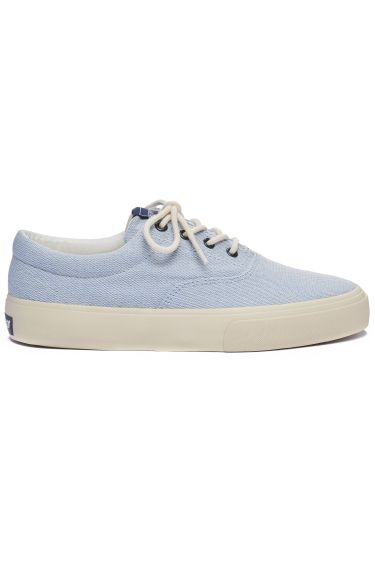 JOHN PAN CANVAS Lt Blue-White