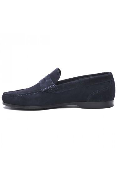 BYRON SUEDE  Blue Navy