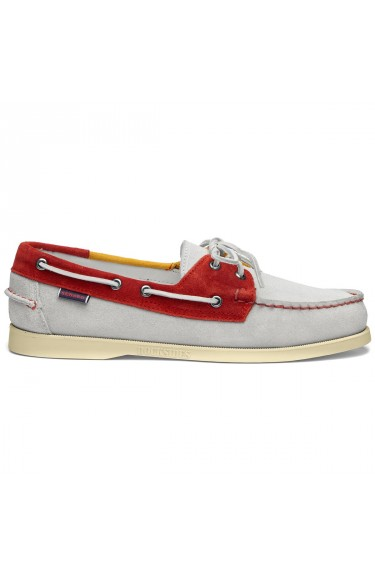 DOCKSIDES JIB FLAGS  Off White-Red-Yellow