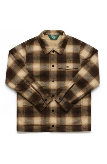 KENNY CHECK Beige/Brown